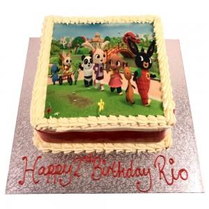 Ceebeebees Picture Cake
