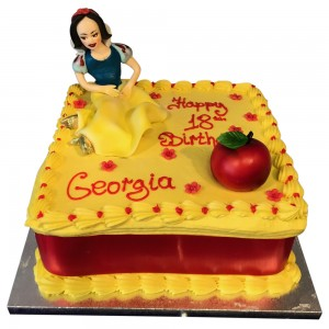 Snow White Topper Cake