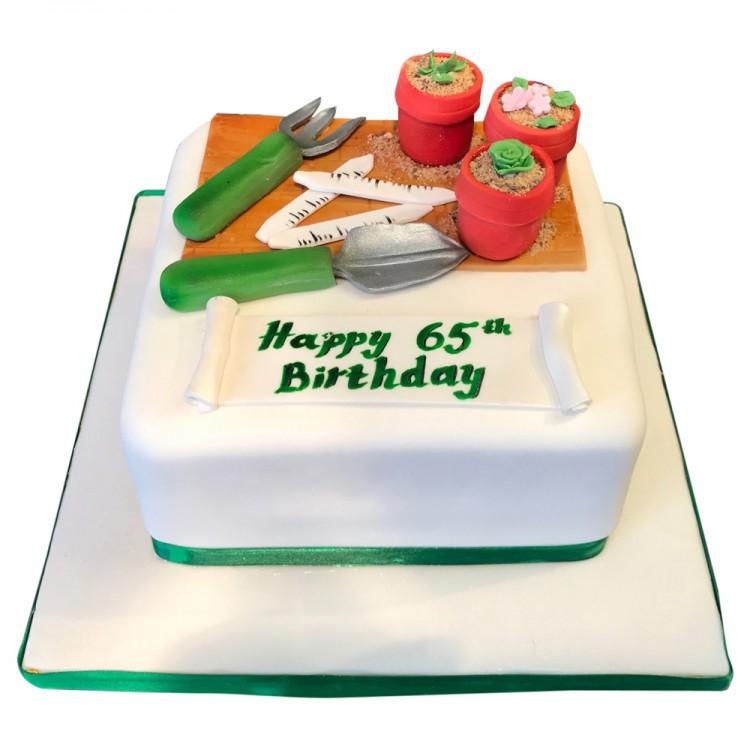 Gents Gardening Cake