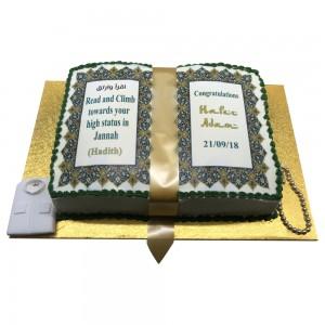 Bukhari Graduation Cake