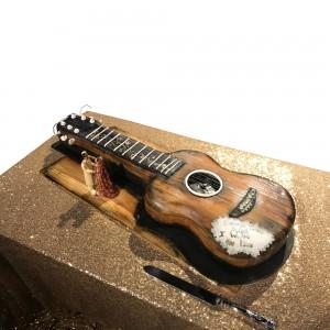 Guitar Wedding Cake