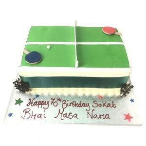 Mens Table tennis cake