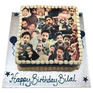 Collage Buttercream Picture Cake