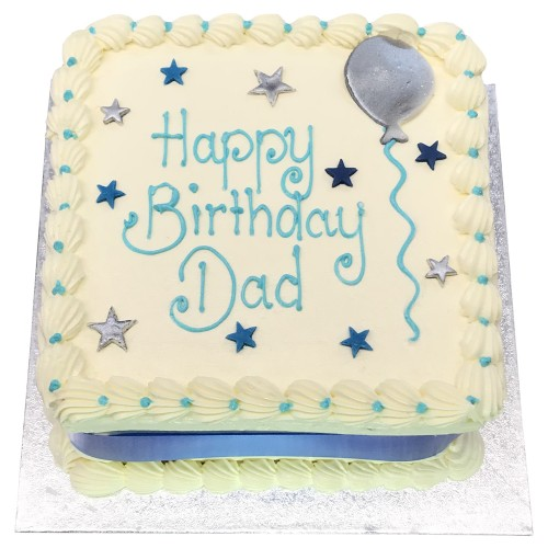 Buttercream cake for Dad