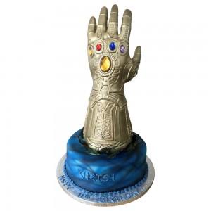 Thanos Hand Cake