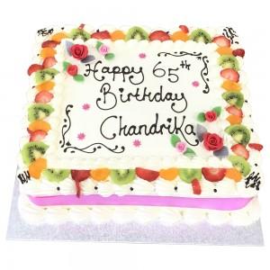 65th Freshcream cake