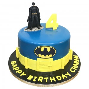 Batman Cake for 4th Birthday