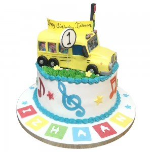 Cocomelon Bus cake