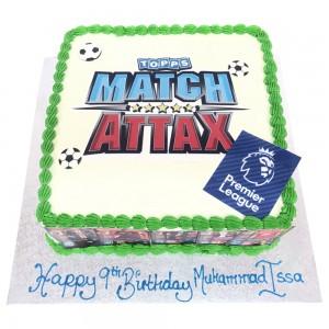 Match Attax Picture Cake