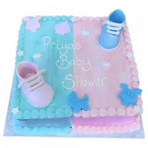Baby Shower Buttercream Cake