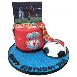 Mens Liverpool SKY TV Football Cake