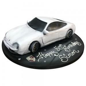 Porsche Cayman Car Cake