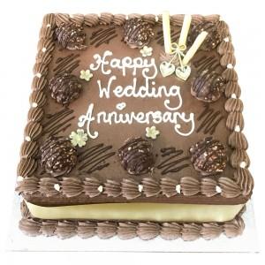 Anniversary Ferrero Buttercream Cake