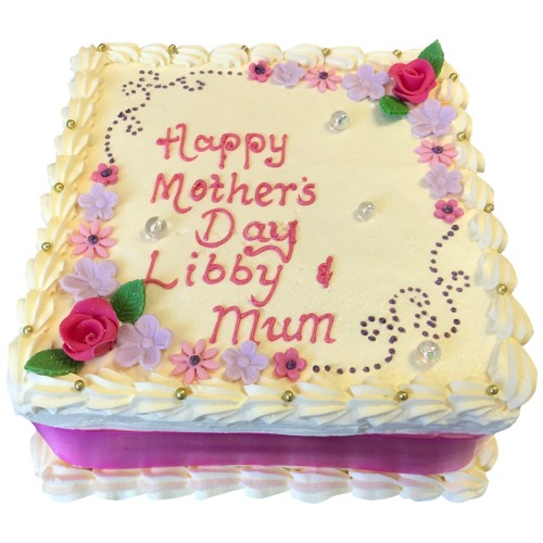 Mothers Day Buttercream Cake