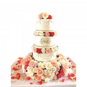 Seperated Wedding Cakes