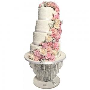 Flower Swathe Cake
