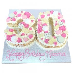 Number 30 cake