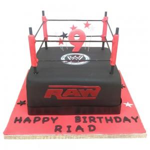 Wrestling raw cake