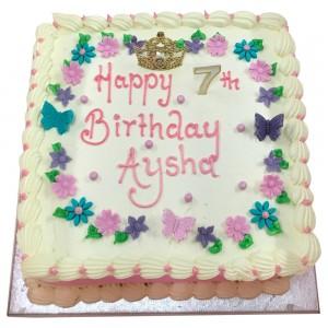 Girls 7th Buttercream Cake