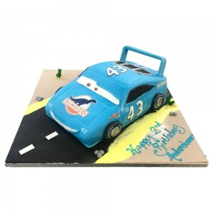 Dinoco car cake