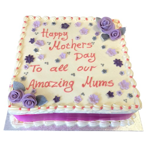 Mothers Day Buttercream Cake 2