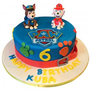 Paw Patrol Toppers cake