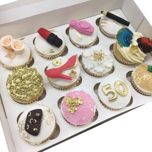 Ladies Fashion Cupcakes