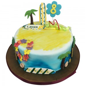 Beach Holiday Cake