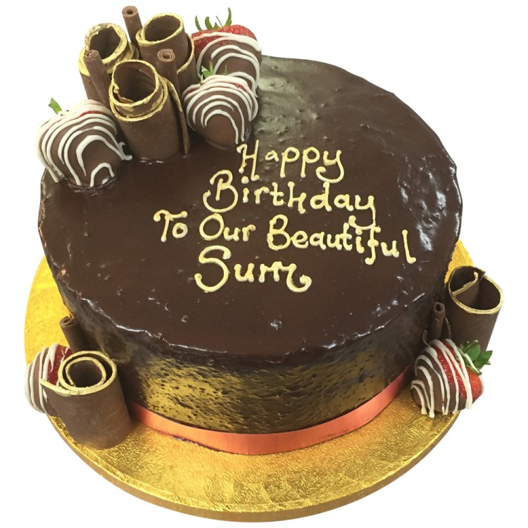 Chocolate Coated Cake Call Us Now Leicester