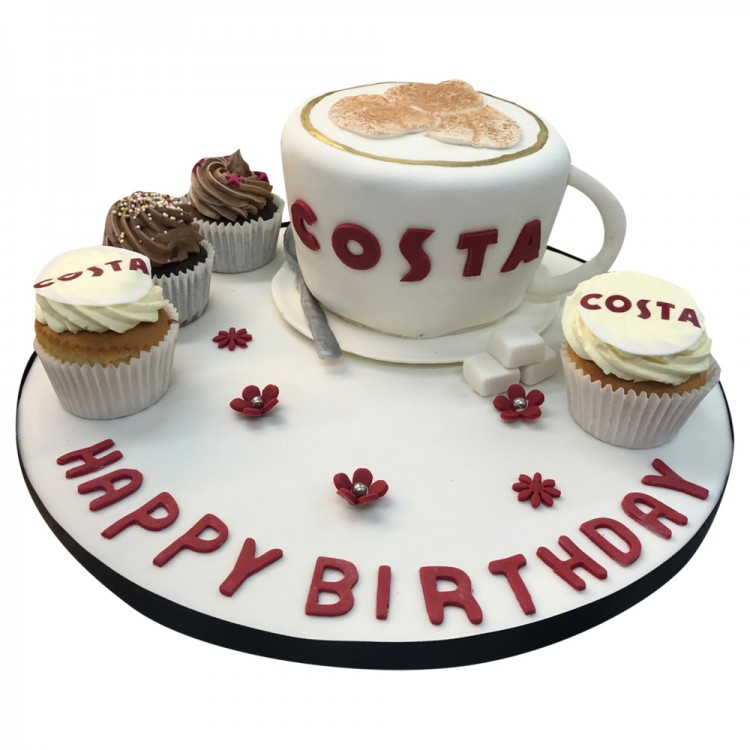 Peachy Costa Coffee Cake Call Us Now Leicester Funny Birthday Cards Online Elaedamsfinfo