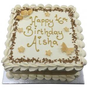 Gold Freshcream Cake
