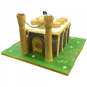 Gold Mosque Cake