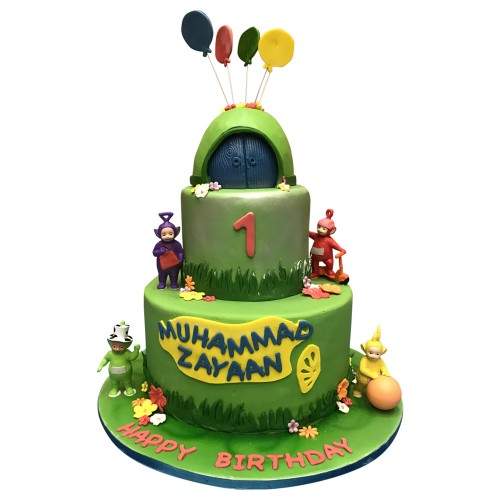 Kids Teletubbies Cake