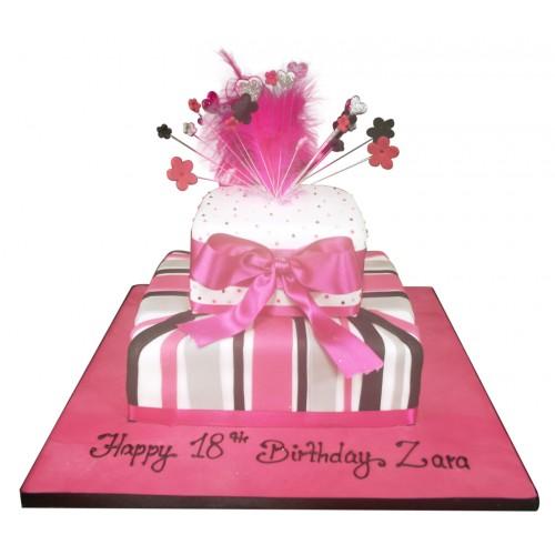 Pink Explosion Cake