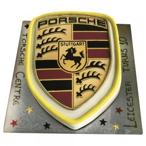 Porsche Logo Cake