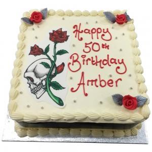 Punk Rock Birthday Cake